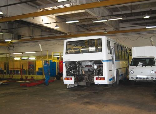 Ремонт автобусов паз своими руками
